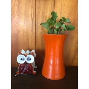 Mid century modern kitsch owl napkin holder